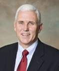 Indiana Gov. Michael Pence