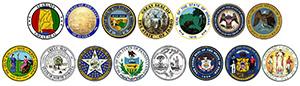 RGA State Logos