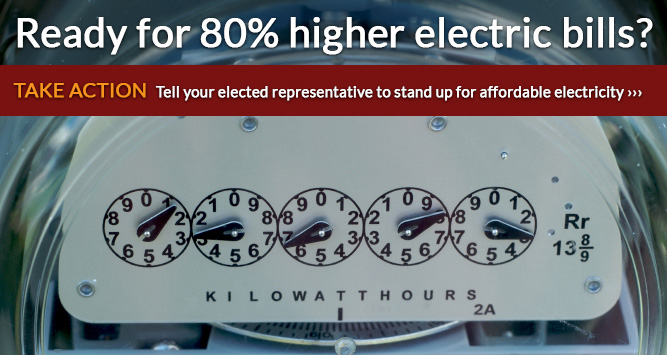 Ready for 80% higher electric bills?