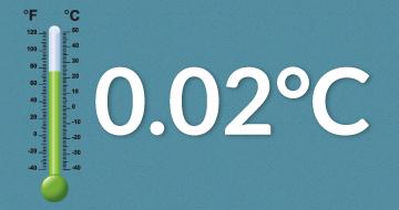 0.02°C