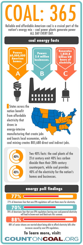 COAL: 365 Infographic